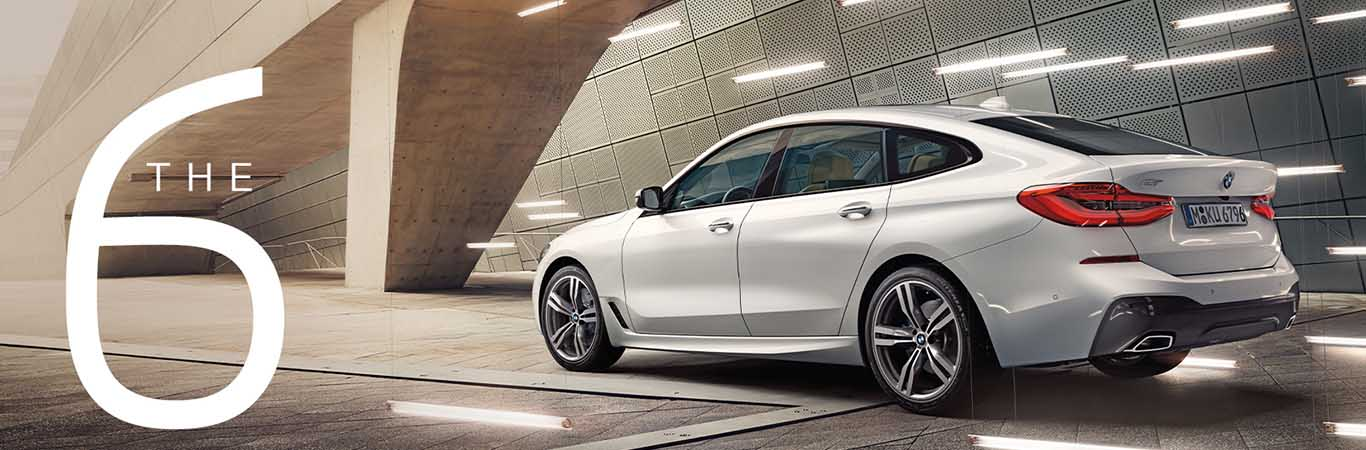 The BMW 6 GT